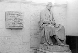 Chantrey's statue of James Watt