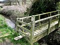 Waymarked footbridge - geograph.org.uk - 748966.jpg