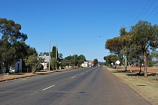Weethalle Town in New South Wales, Australia