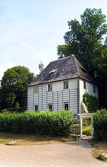 Goethes Gartenhaus – Wikipedia
