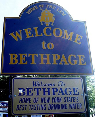 Bethpage, New York - Image: Welcome to Bethpage