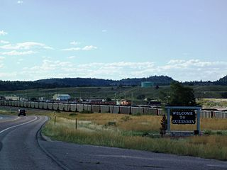 Guernsey, Wyoming Town in Wyoming, United States