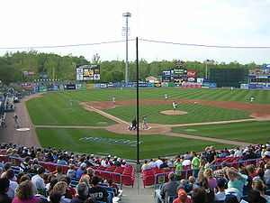 West Michigan Whitecaps - Whitecaps at home in Fifth Third Ballpark