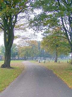 West Derby Cemetery Cemetery in Liverpool, England