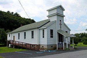West Falls, Pennsylvania - West Falls Baptist Church