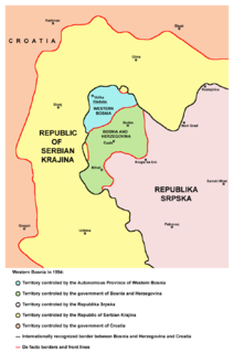 Siege of Bihać three-year-long siege of the northwestern Bosnian town of Bihać during the Bosnian War