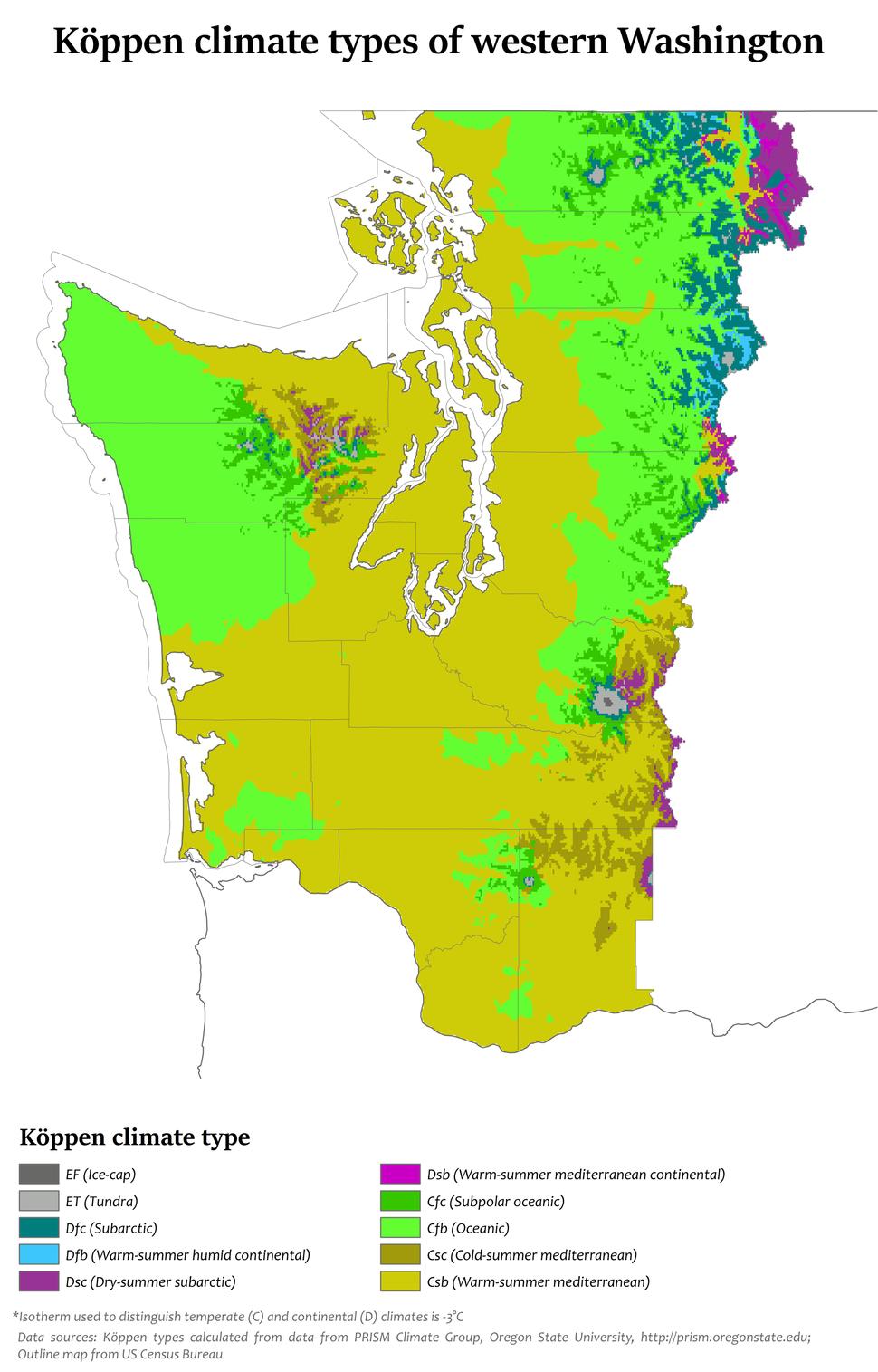 Western Washington K%C3%B6ppen