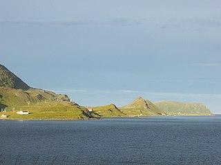 fjord in Finnmark, Norway
