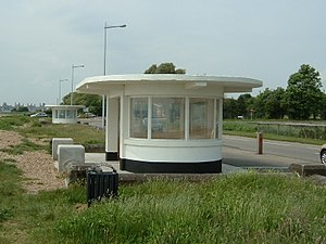 Weston, Southampton - Image: Weston Shore Shelters