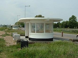 Weston, Southampton - Image: Weston Shore Shelters