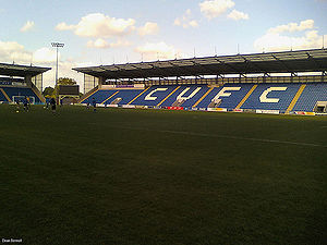 Colchester United F.C. - Image: Weston Homes Community Stadium