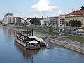 Westy Ship Restaurant & Pub and Dunapart Residence from Kossuth Bridge, 2018 Győr.jpg