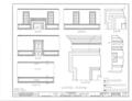 White House, 1822 Broad Street, Augusta, Richmond County, GA HABS GA,123-AUG,8- (sheet 8 of 8).png