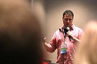 Wikimania 2015 - Joe Sutherland 37.jpg