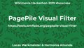 Wikimania Hackathon 2019 showcase – PagePile Visual Filter.pdf