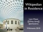 Wikipedian in Residence, Wikimania 2010.pdf