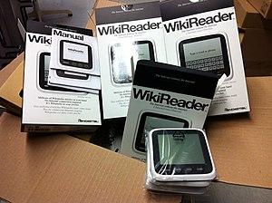 WikiReader - Wikireaders in original packaging.