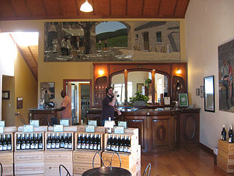 Enotourism - Typical winery tasting room