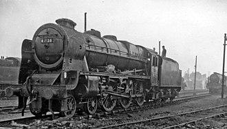 LMS Patriot Class - 45528 R.E.M.E. in November 1962