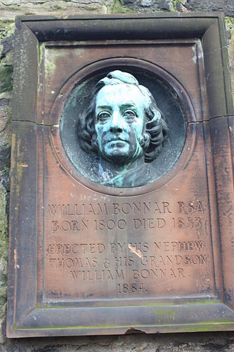 William Bonnar - William Bonnar's grave, St Cuthberts, Edinburgh