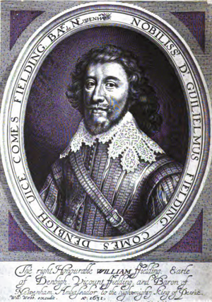 William Feilding, 1st Earl of Denbigh - 1631 portrait of Feilding