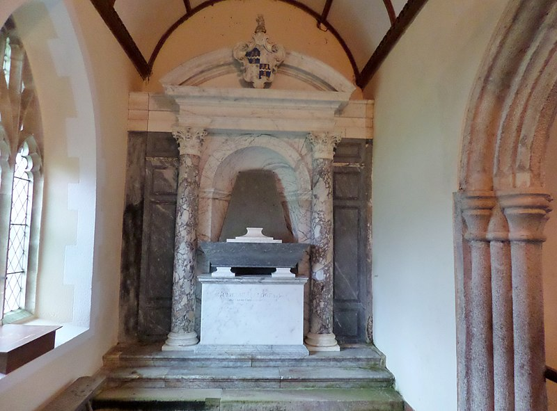 File:William Fellowes Memorial, All Saints, Church, Eggesford, Devon.jpg