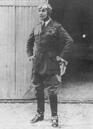 Billy Mitchell - Mitchell as Assistant Chief of Air Service (in non-regulation uniform)