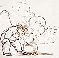 William Morris cooking in Iceland by Edward Burne-Jones.jpg
