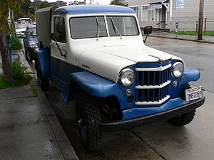 Willys Jeep Truck - Image: Willys 1957 P1270690