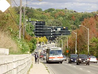 York Mills - The Toronto ravine system is prominently featured in the neighbourhood.