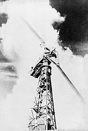 The world's first megawatt wind turbine at Castleton, Vermont