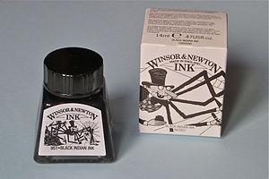 Winsor & Newton - Image: Winsor newton ink