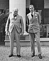 Winston Churchill, Anthony Eden, Sillery, 1943.jpg
