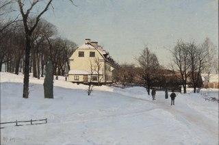Winter. Skeppsholmen, Stockholm
