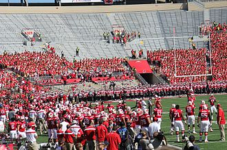 2014 Wisconsin Badgers football team - Camp Randall Stadium before Western Illinois game on September 6