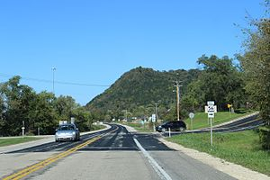 Wisconsin Highway 56 - Western terminus on WIS35