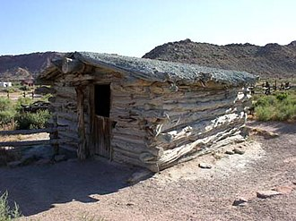 National Register of Historic Places listings in Arches National Park - Image: Wolfe Ranch Cabin