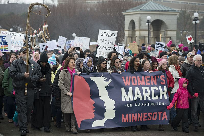 the womens march in washington dc against president donald trump An estimated one million people are believed to have taken to the streets on washington dc (pictured) to protest against president donald trump the national mall in dc was completely filled.