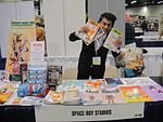 File:WonderCon 2012 - Space Boy Studios booth (7019132045).jpg