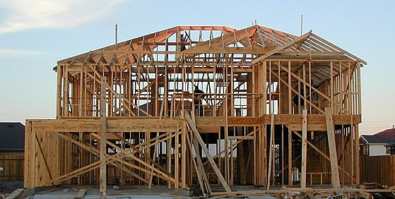 Residential framing image