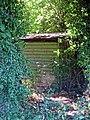 Wood shed at Gaston Green, Little Hallingbury, Essex, England 1.jpg