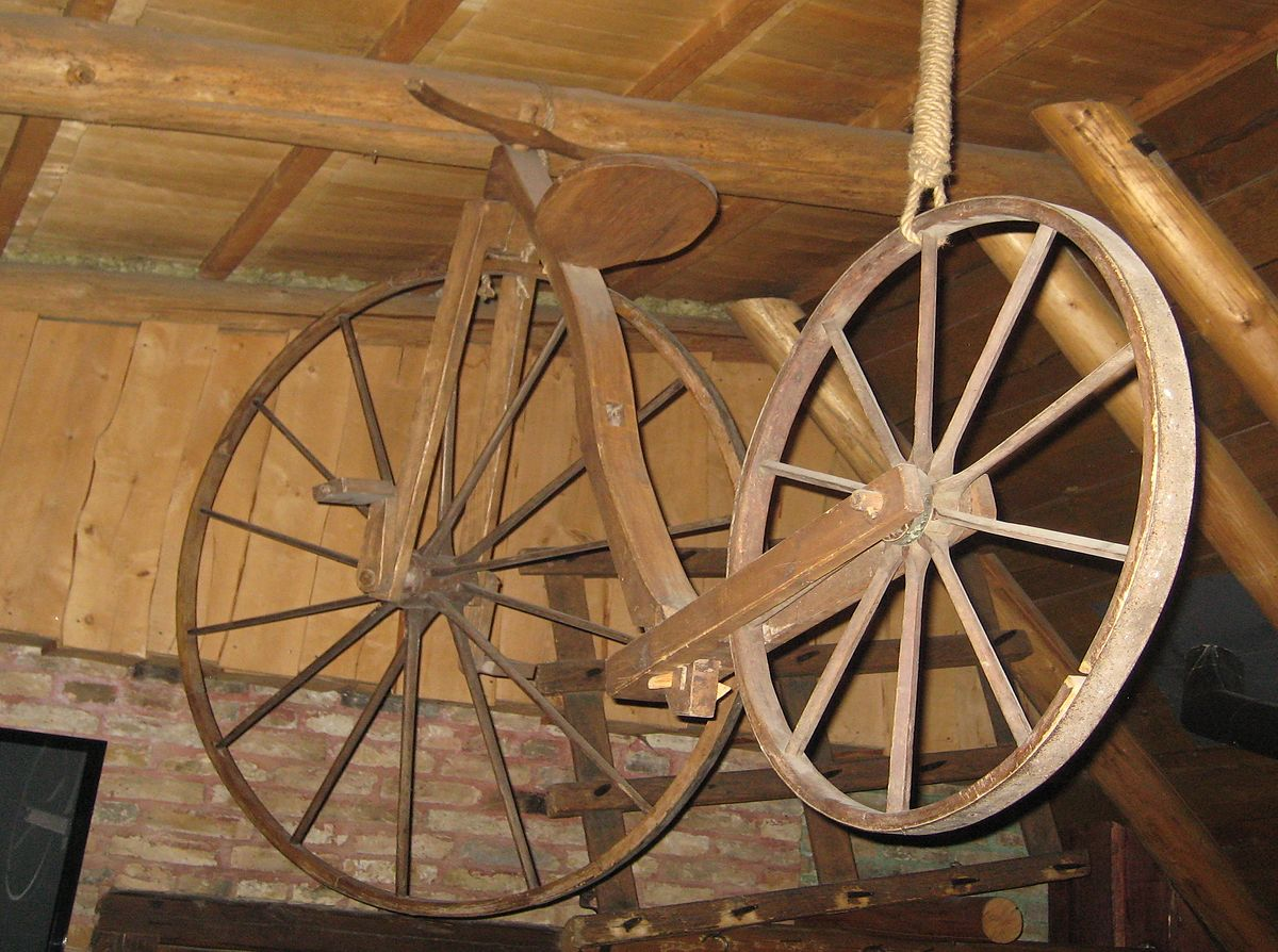 Wooden bicycle - Wikipedia