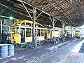 Work trams inside old depot of Santa Teresa Tramway in 2008.jpg