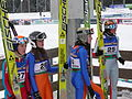 World Junior Ski Championship 2010 Hinterzarten Mattel Lemare Clair Espiau 133.JPG