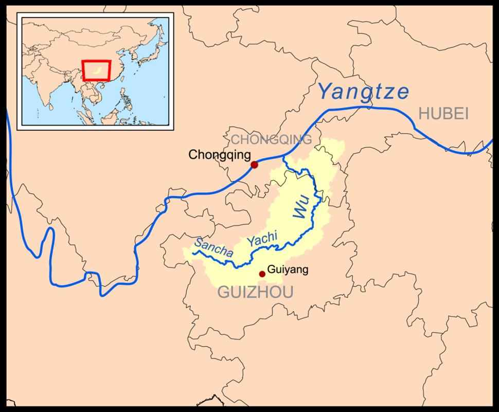 Wujiangrivermap