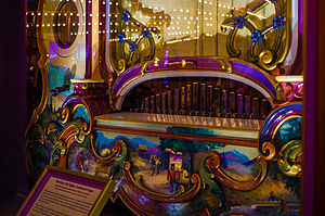 Playland (San Francisco) - Carousel organ, now at the Santa Cruz Beach Boardwalk