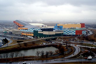 American Dream Meadowlands - The complex seen from the Meadowlands Sheraton