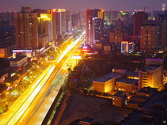 China Western Development - Xi'an, capital of Shaanxi province