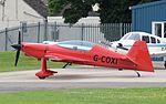 Xtremeair XA42 (G-COXI) at Cotswold Airport England 18Jun2016 arp.jpg