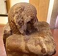 Xviii dinastia, regno di amenhotep III, statua cubo di ptahmose, oggetti rituali 01.jpg